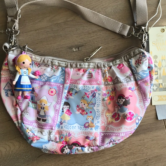 e50bdfb6845 Le Sport Sac Bags   Its A Small World Collection   Poshmark